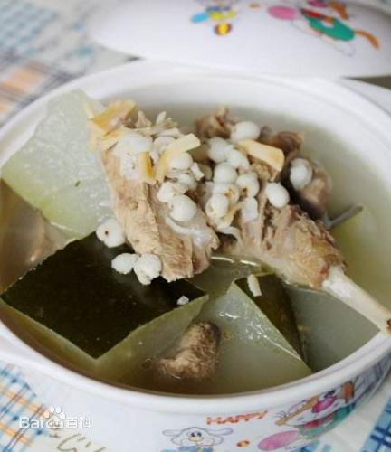 冬瓜薏米煲水鸭 末伏天灸搭配汤水 消暑又滋阴