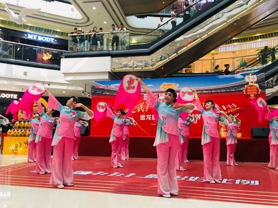 金龙鱼1:1:1彰显奥运健康品质 广场舞大赛结缘苏州水乡情
