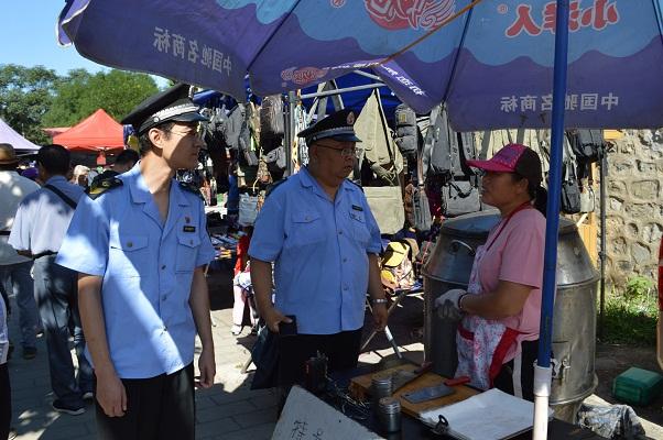 北京门头沟区市场监管局加强山区集市管理 开展禽类产品质量安全专项检查