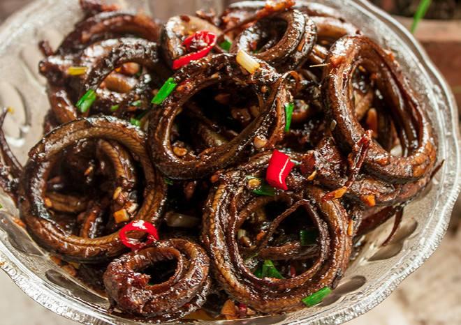 重庆美食:盘龙黄鳝