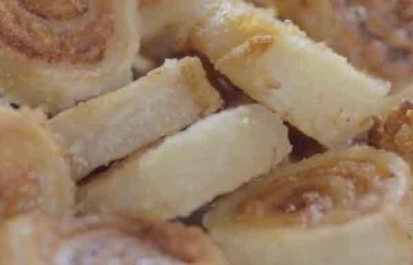 广东美食:传统风味野鸡卷