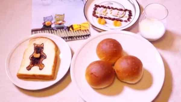 跟着绘本做早餐:云朵面包