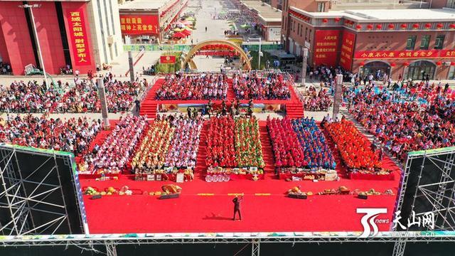 """""""丰收中国·新疆美""""农民丰收节在达西村举办"""